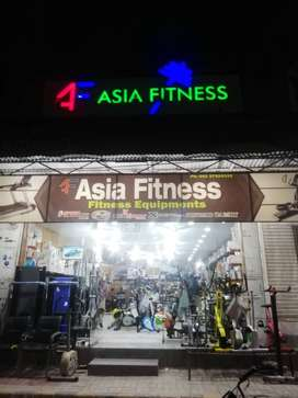 EXERCISE GYM FITNESS EQUIPMENT BIGGEST WHOLE SALE STORE(ASIA FITNESS)