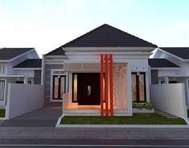 Rumah murah mewah di panam  jl Purwodadi dkt ke Ramayana panam 65/130