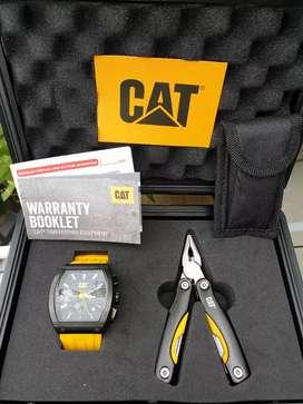 DIJUAL jam CAT ori, lengkap dus box dll  di toko masih diatas 3jt'an