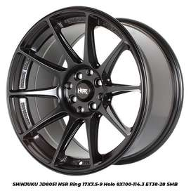 SHINJUKU JD8051 HSR R17X75/9 H8X100-114,3 ET38/28 SMB