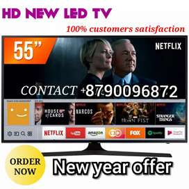 BRAND NEW SMART 55 INCH LED TV FULL HD QLED WITH 2 YEAR WARRANTY