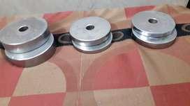 Sale gym rod with plates & lock