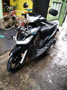 Yamaha mio garnis   mulus full orisinil hitam