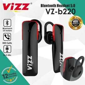 Vizz VZ-B220 Bluetooth Earphone Original Solo Micro