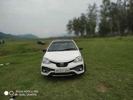 Toyota Etios 2013 upgrade with 2019 model