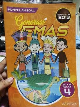 Buku Kumpulan Soal Generasi Emas Kelas 4 SD