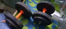2.5 2.5 dumbbell gym