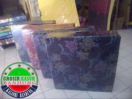 Kasur busa lipat 2, ukuran 90x180x10 cover kain spring bed