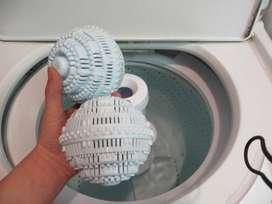 Bola Karet Mesin Cuci Pembersih Pakaian - Laundry Ball