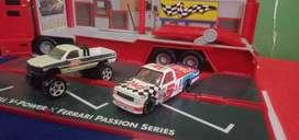 Diecast pickup truck speed Racer dan big foot merk maxhbox