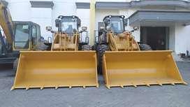 Promo Wheel Loader Lonking 3 Kubik Wechai Engine Power 162Kw Murah