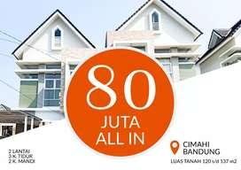 Perumahan murah properti di Padasuka Cimahi Utara tol minimalis kpr