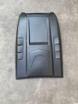 Aksen Tambahan Kap Air Scoop Mesin Ford Ranger T6 T7 2012 Ke atas