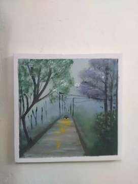 Canva painting