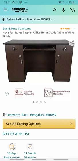 Strong heavy duty table ,with shelfs, very good for Restaurant counter