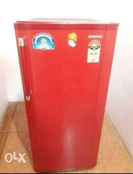 Samsung Red Color single door refrigerator