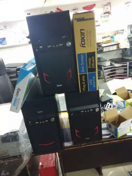New Compter Full Set only 7501/- with 1 Ye