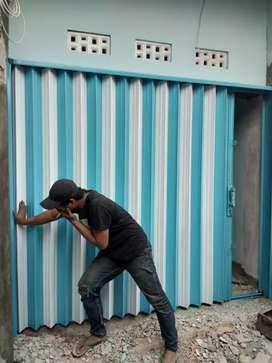Rolling door, folding gate pondok bambu,  duren sawit jakRta