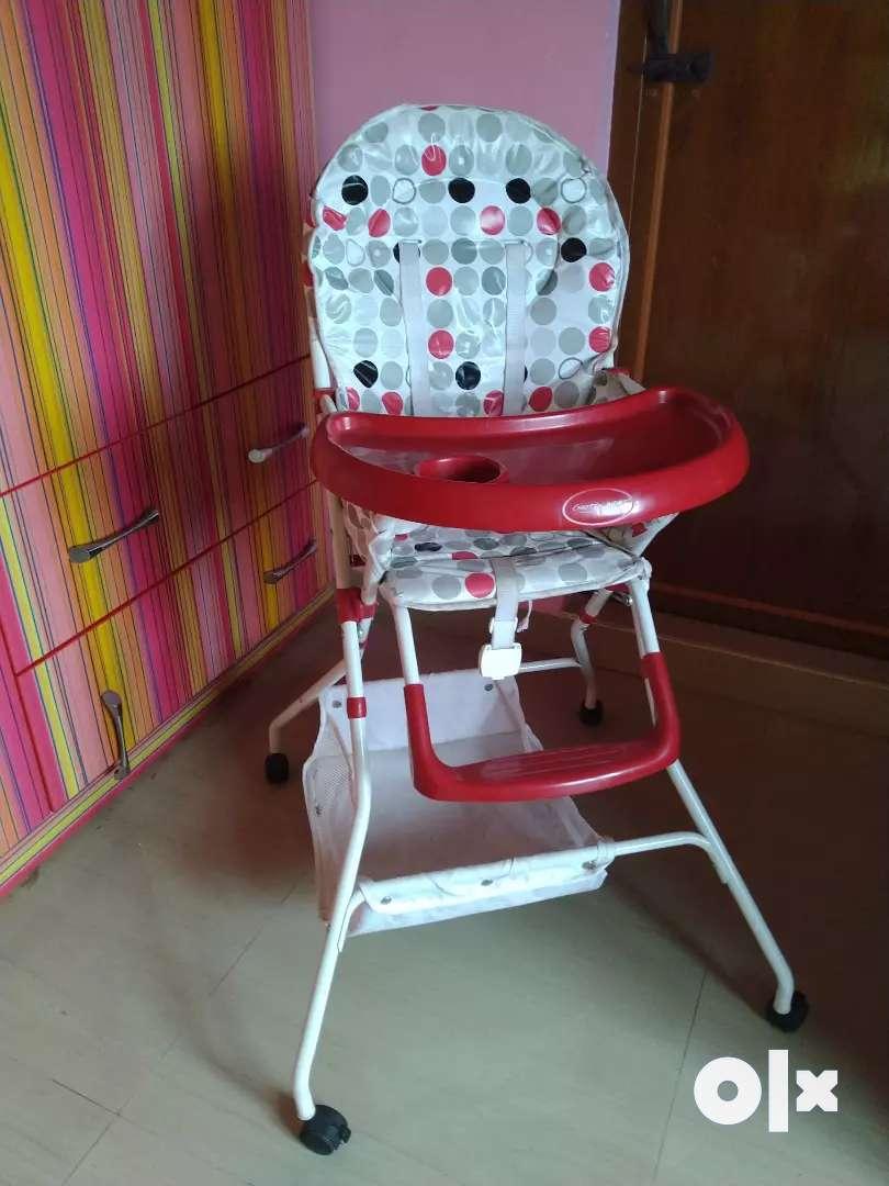Notty kids babyhug rarely used high chair 0