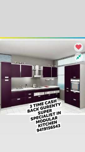 Good news Ab jmu ma b life time kitchen specialists Available & fridge