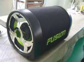 Fusion Woofer and amplifier
