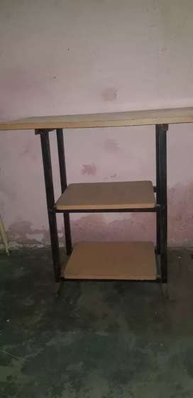 Studying Table with two columns :- hight 3 1/2 feat length 2 1/2 feat