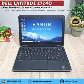 Dell Latitude E7240 Premium Ultrabook Core i7-4600U 16GB SSD 256GB