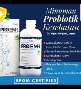Minuman probiotik ProEm-1