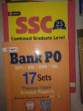 Official ssc and bank preperation book set