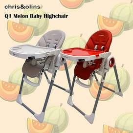 Kursi Makan Bayi Chris Olins Melon High Chair Baby bangku makan Bayi