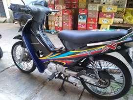 Supra X 100 HARGA NETT THN 2005