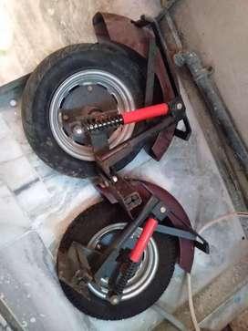 Active handicapped wheels