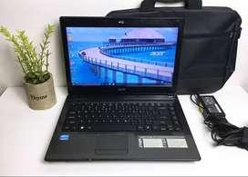 Laptop Acer Core i3 RAM 2GB Harddisk 500GB Masih Segel