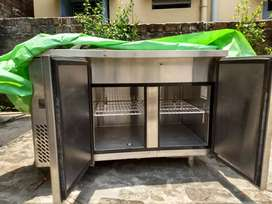 Imported Commercial Horizontal Freezer with Cold Bain Marie