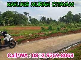 Kavling Murah Citayam, Kavling Siap Bangun dekat jalur Angkot