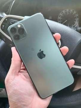 IPhone 11 promax 256gb GREEN BH 93