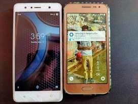Buy both mobile at7000₹ Samsung Galaxy j2 & lenovo k8 plus sell urgent