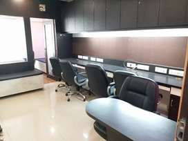 Luxurious Fully Furnished Office Space On Rent Prahladnagar Extension