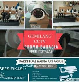 Promo Paket camera CCTV 4 Channel