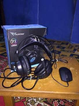 Headset gaming&mouse gaming