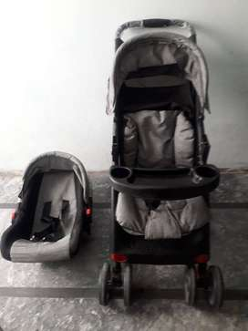 Stroller And Baby Car seat/Pram and Seater