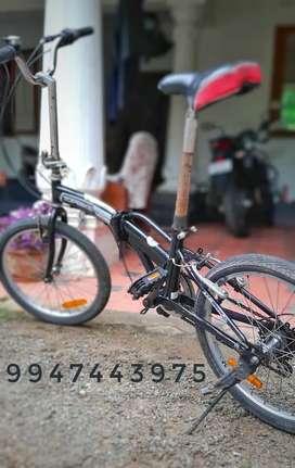 Folding bike  well maintained.