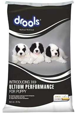 drools ultium performance puppy food 20kg