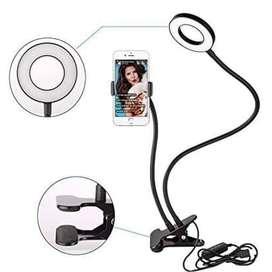 PROMO !! Lazypod Ring Light / Lampu Selfie / Lampu Belajar