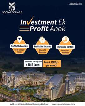 Invest in the most promising commercial place of the town