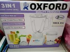 Oxford juicer 3 in 1