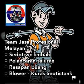 Sedot WC Profesional Team Area Jabodetabek