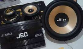 1 Set Paket Hemat Sound Merek Jec Bisa Di Kreditkan