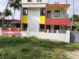 5.50 cent plot with1700 sq.ft 3BHK house in perumpuzha