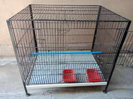 Iron cage for birds one month used only